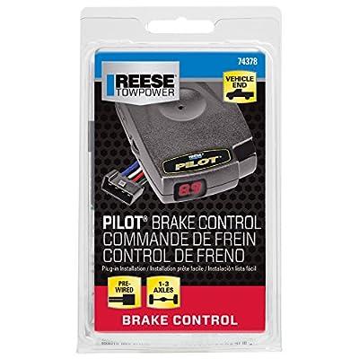 Reese Towpower 74378 Pilot Brake Controller, Black: Automotive