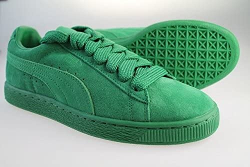 PUMA Suede Classic Eco Green Trainers 352634 14: Amazon.co