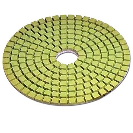 marbre 125 mm Velcro EDW Diamant Disque abrasif pour pon/çage//polissage Dia Wet 9er Set granit Pon/çage abrasif Traitement de pierre naturelle carrelage