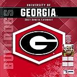 Turner Licensing Sport 2017 Georgia Bulldogs Team Wall Calendar, 12''X12'' (17998011801)