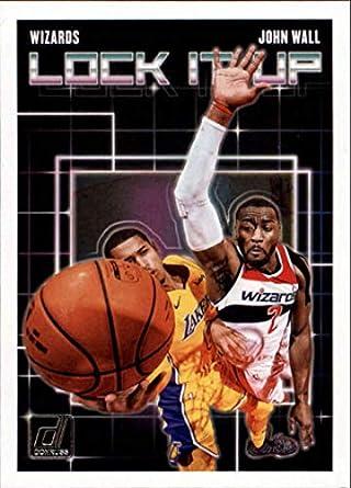 2018-19 Donruss Lock it Up  7 John Wall Washington Wizards NBA Basketball  Trading 454bf5981