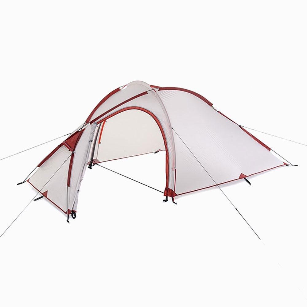 Camping Campsite Ultra-light Aluminium-Stäbe Doppelschicht Anti-Regenwasser-Zelt, 1 -3 Person, eine Ein Raum und eine Person, Halle 7b43f2