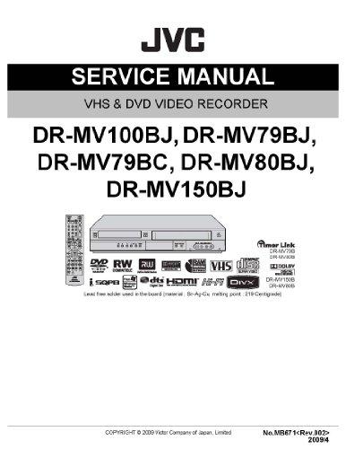 jvc-dr-mv100b-and-dr-mv150bj-service-manual