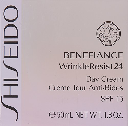 Shiseido Benefiance Wrinkleresist24 Day Cream SPF 15 for Unisex, 1.8 Ounce