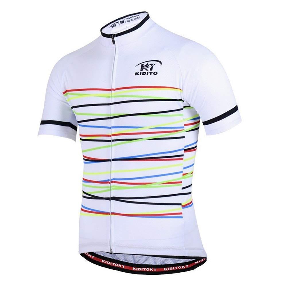 Sporttrikot Unisex Tops Jersey Jersey Leichter, schnelltrocknender Fahrrad-Reitanzug Fahrrad Trikot LPLHJD