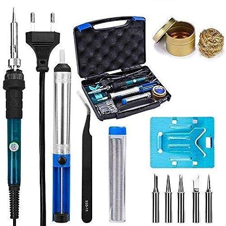Desoldador Estaño,Soldador Estaño,Soldador,Soldador de Estaño y Caja de Mango: Amazon.es: Bricolaje y herramientas