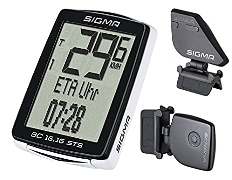 Sigma Ciclocomputador Unisex adulto color Negro