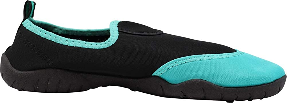 Ladies Quick Drying Waterproof Slip-Ons for Pool NORTY Womens Water Shoes Wave Aqua Socks Beach and Sports