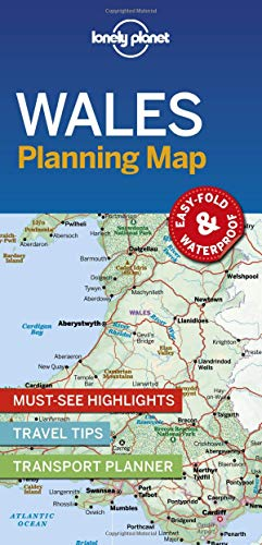 (Lonely Planet Wales Planning Map)