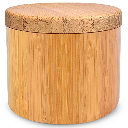 Bamboo Jar (Small 6oz salt jar), Salt Box