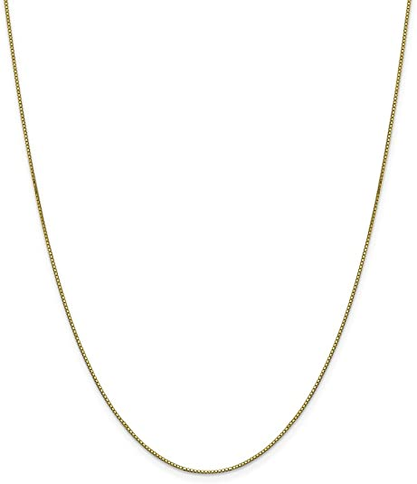"""10k Real Gold necklace with pendant Heart Key Charm 1"""" Long With Box Chain 20"""""""