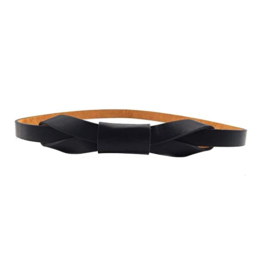 5bb03b7c7 Image Unavailable. Image not available for. Color: Womens Adjustable Leather  Belts Fashion Skinny Minimalism Waist ...