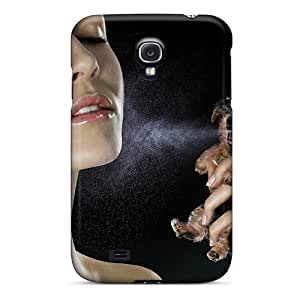 (Lli4039Gdeo)durable Protection Case Cover For Galaxy S4(photoshop Living Parfume)