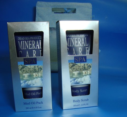 THE IDEAL GIFT FOR EVERY HAPPY EVENT HYPOALLERGENIC KIT MUD OIL PACK BY MINERAL CARE