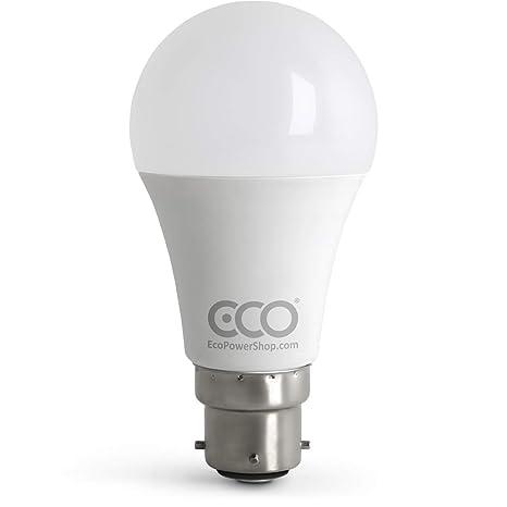 Bombilla LED de 3 pines BC3 no regulable, 12 W, ahorro de energía,