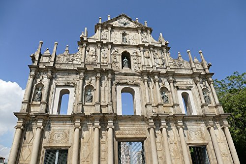 Home Comforts LAMINATED POSTER Macau Church Building Portugal Colony China Poster