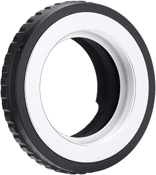 Acouto M42-LM Lens Mount Adapter Ring for M42 Mount Lens Leica M Camera TECHART LM-EA7 Adapter