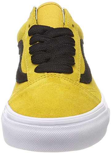 Vans Old Skool, Scarpe Running Unisex-Adulto Giallo ((Oversized Lace) Tawny Olive/Black R0y)