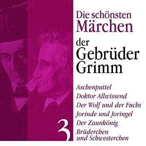 Aschenputtel, Jorinde und Joringel Hörbuch