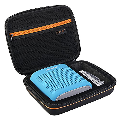 Canboc Carrying Case for Bose Soundlink Color Wireless Bluetooth Speaker/II USB Cable & Power Charger | Durable & Shockproof EVA | for Storage, Travel, More