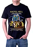 Motel Hell Classic Horror Film Farmer Vincent Fritters T-Shirt by Jerry Jackson MADE IN THE USA (XXX-Large)
