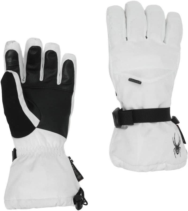 Spyder Synthesis GTX Gants de Ski//Snow//Femme M Blanc