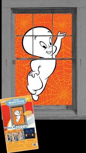 WOWindow Posters Casper the Friendly Ghost Halloween Window Decoration 34.5