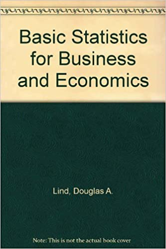 Basic statistics for business and economics douglas a lind robert basic statistics for business and economics douglas a lind robert deward mason 9780256214994 amazon books fandeluxe Gallery