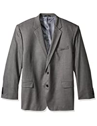 Haggar Mens Big-Tall J.m Premium Stretch Classic Fit 2-Button Coat