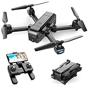 Flashandfocus.com 51ati6zK3RL._SS300_ SNAPTAIN SP510 Foldable GPS FPV Drone with 2.7K Camera for Adults UHD Live Video RC Quadcopter for Beginners with GPS…