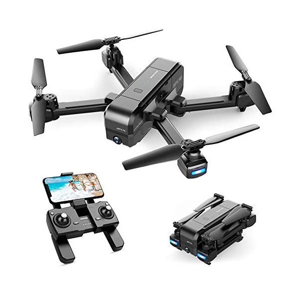 SNAPTAIN SP510 Foldable GPS FPV Drone with 2.7K Camera for Adults UHD Live Video...