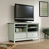Sauder Original Cottage Entertainment Credenza, Rainwater Finish