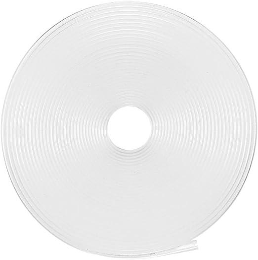 Sourcing map Tube thermor/étractable 2:1 pour c/âble disolation /électrique Transparent 3 mm Diam/ètre 5 m