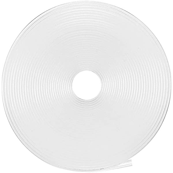 sourcingmap Heat Shrink Tube 2:1 Electrical Insulation Tube Wire Cable Tubing Sleeving Wrap White 15mm Diameter 5m Length