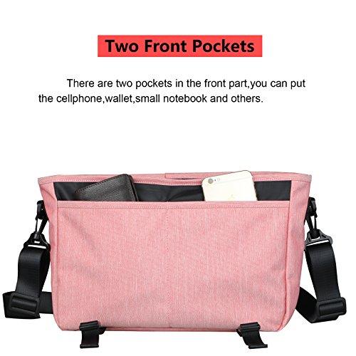 033a37f105 Amazon.com  Messenger Bag Vintage Canvas Messenger Bag Casual Shoulder Bag  Cross-body bag Water-Resistant Wear-resistant  ParaPace