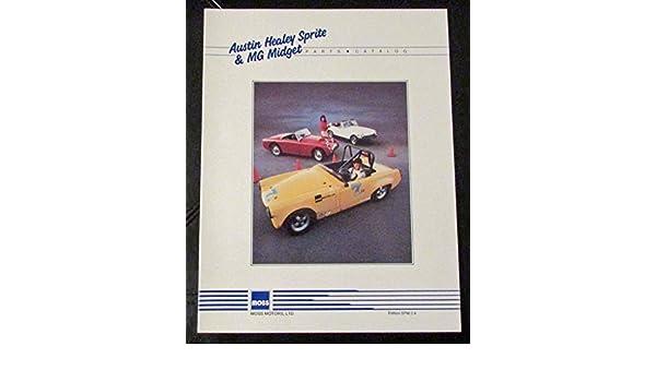 Austin Healey Sprite- MG Midget Parts Catalogue: Moss Motors