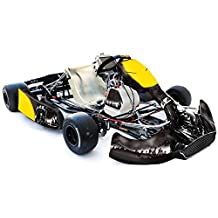 AMR Racing Fits: CRG Shifter Kart Na2 New Age Body Graphic Kit: Reaper: Black