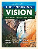 img - for The Enduring Vision, Volume 1: To 1877 book / textbook / text book
