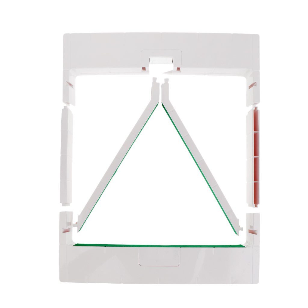 Jili Online Professional Plastic Snooker Triangle for 15 Red Balls - Folding Triangle