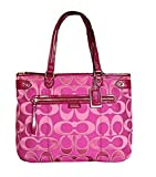 Coach Daisy Outline Multi Signature Emma Tote Shoulder Bag F29307