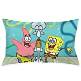 Pillow Cases Spongebob Squarepants and Friends Throw Cushion Covers Body Pillow Cover for Car Sofa Bed Home Decor 20'x30'