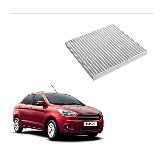 Auto Spare World Cabin A/C Filter for Ford Figo Aspire 2015-2017 Diesel 1.5L Set of 1 Pcs.