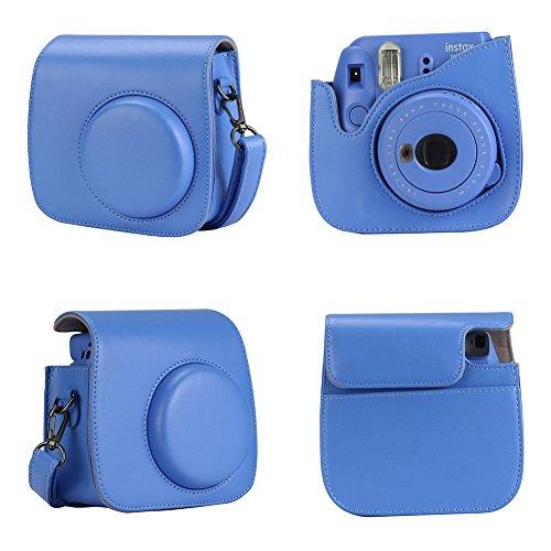 Anter 17 in 1 Mini 9 Accessories fit to Fujifilm Instax Mini 9 Instant Film Camera (Cobalt Blue)