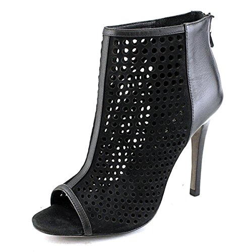 Rebecca Minkoff Women's Moss Too Perforated Booties, Black, 6.5 B(M) ()