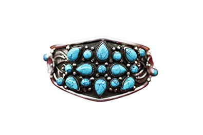 Interact China Fine Tibetan Turquoise Coral Jewelry 925