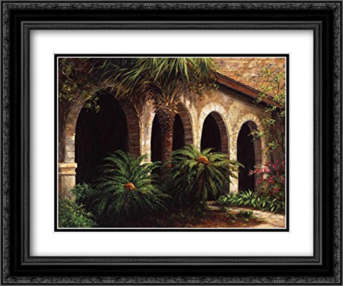 Sago Arches 2x Matted 24x20 Black Ornate Framed Art Print by Fronckowiak, Art (Sago Arches)