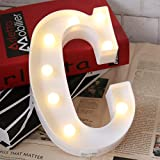 LED Marquee Letter Lights 26 Alphabet Light Up Name