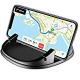 Car Phone Holder, Avanz Anti-Slip Car Phone Mount, Universal Silicone Dashboard Car Pad Mat Cable Organizer for iPhone X/8 Plus/7 Plus/6/6S Plus, Samsung Galaxy S8 Plus/Note 8/S7 3.5-7 inch Smartphone