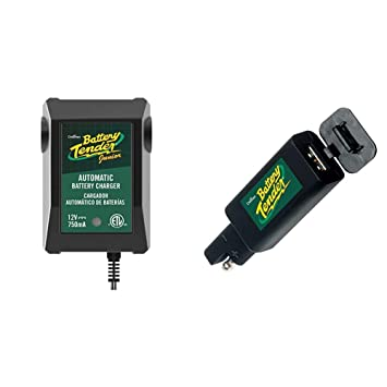 Amazon.com: Battery Tender 021-0123 Tender Junior - Cargador ...