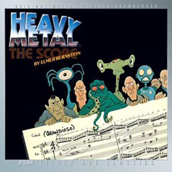Elmer Bernstein Heavy Metal 1981 Fsm Soundtrack Amazon Com Music